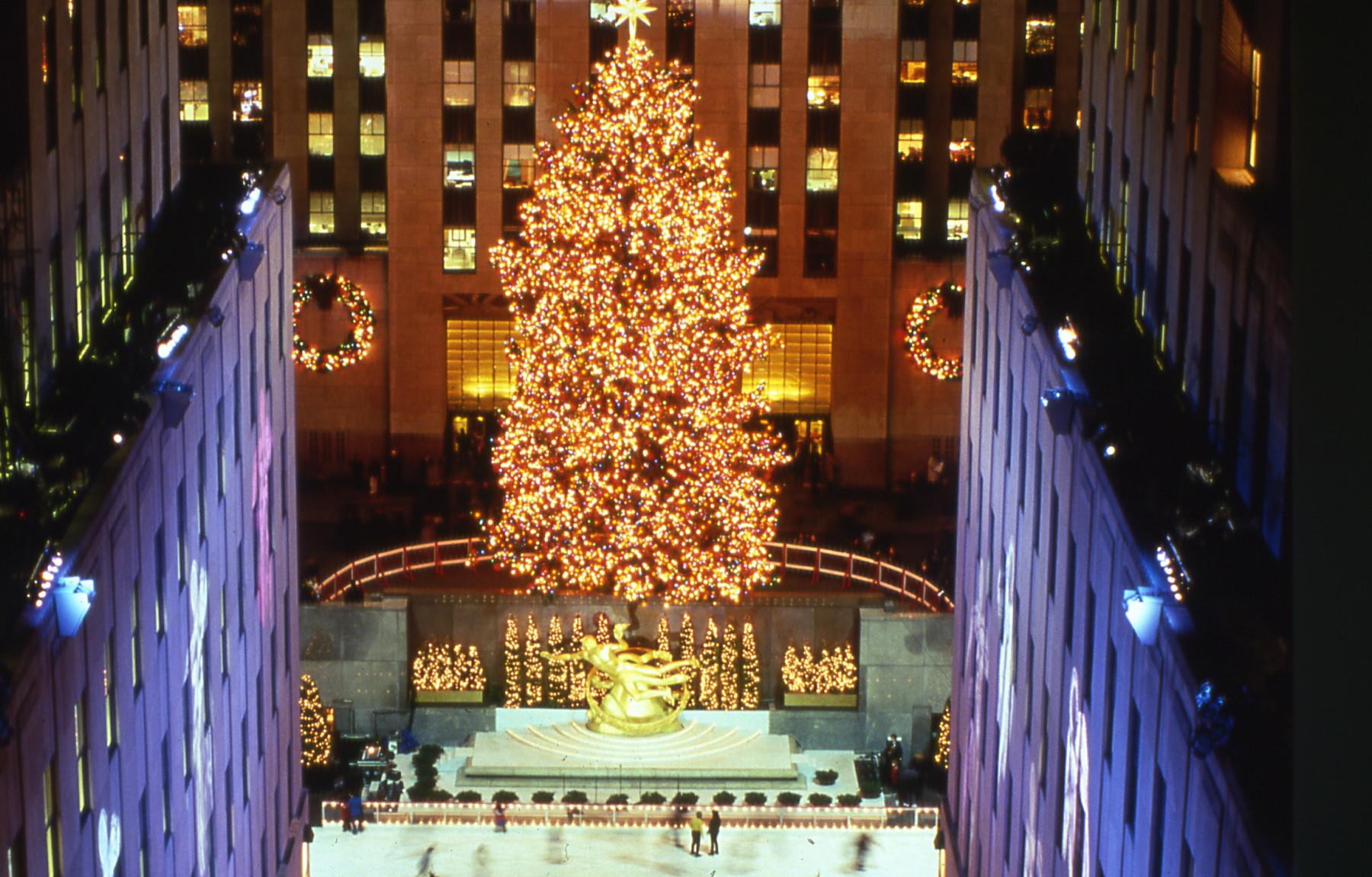 The 1998 Rockefeller Center Christmas Tree